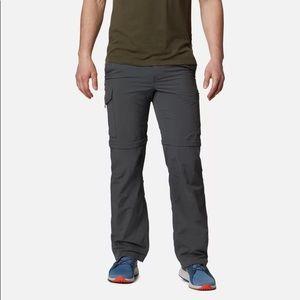 Columbia Men's Convertible Cargo Pants Zip Off